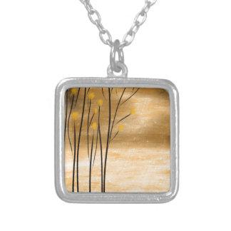 Golden forest necklaces