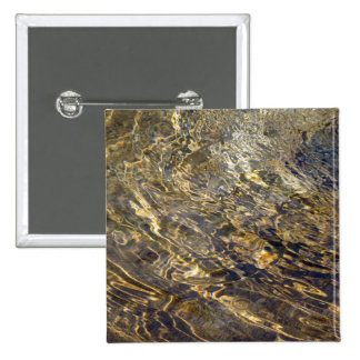 Golden Fountain Water 2 15 Cm Square Badge