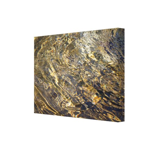 Golden Fountain Water 2 Canvas Print