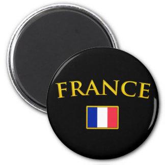 Golden France Magnet