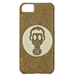 Golden Gas Mask Cover For iPhone 5C