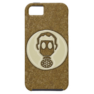 Golden Gas Mask iPhone 5 Case