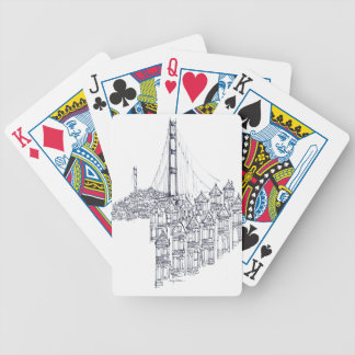 Golden Gate Bicycle Playing Cards