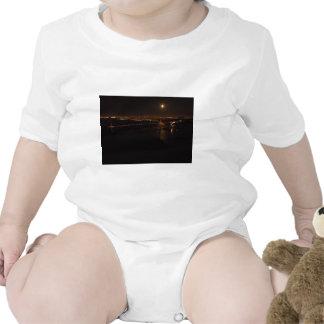 Golden Gate Briddge Full Moon Baby Bodysuits