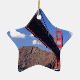 Golden Gate Bridge 10 Christmas Ornament