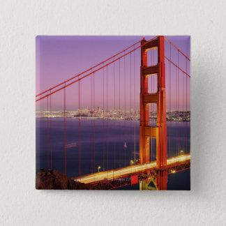 Golden Gate Bridge 15 Cm Square Badge
