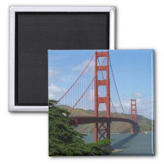 Golden Gate Bridge 2 Square Magnet