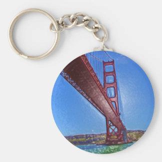 Golden Gate Bridge 3D Keychain