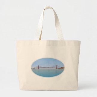 Golden Gate Bridge: 3D Model: Jumbo Tote Bag