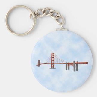 Golden Gate Bridge: 3D Model: Keychain