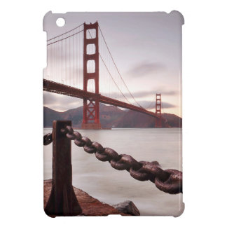 Golden Gate Bridge against mountains Cover For The iPad Mini