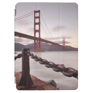 Golden Gate Bridge against mountains iPad Air Cover