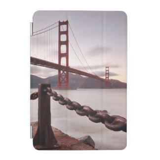 Golden Gate Bridge against mountains iPad Mini Cover