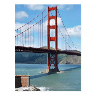 Golden Gate Bridge And Fort Point In San Francisco Postcard