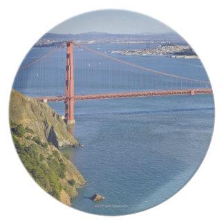 Golden Gate Bridge and San Francisco. 2 Plate