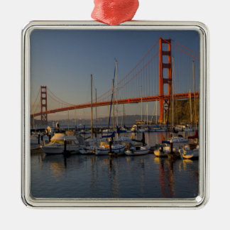 Golden Gate Bridge and San Francisco 4 Christmas Ornament