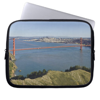 Golden Gate Bridge and San Francisco. 4 Laptop Sleeve