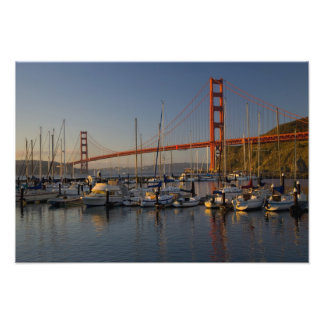 Golden Gate Bridge and San Francisco 4 Photo Print