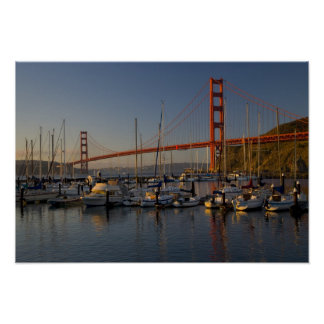 Golden Gate Bridge and San Francisco 4 Poster