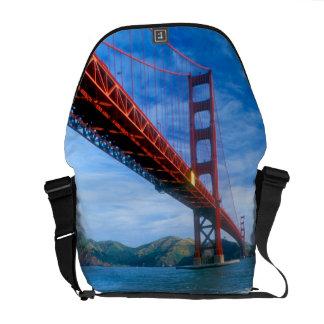 Golden Gate bridge and San Francisco Bay 2 Messenger Bag
