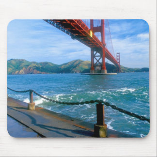 Golden Gate bridge and San Francisco Bay 2 Mouse Pad