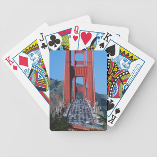 Golden Gate bridge and San Francisco Bay Bicycle Playing Cards