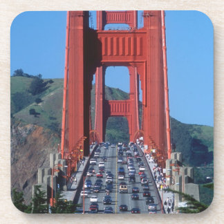 Golden Gate bridge and San Francisco Bay Coaster