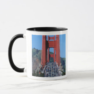 Golden Gate bridge and San Francisco Bay Mug