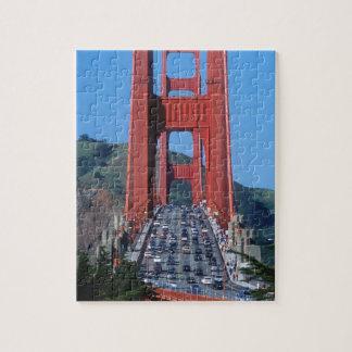 Golden Gate bridge and San Francisco Bay Puzzle