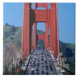 Golden Gate bridge and San Francisco Bay Tile