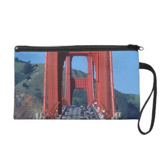 Golden Gate bridge and San Francisco Bay Wristlet Clutches
