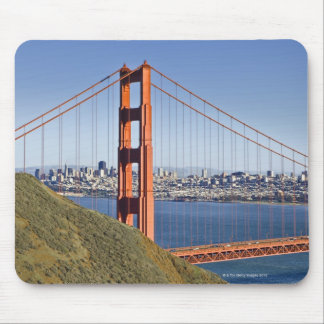 Golden Gate Bridge and San Francisco. Mouse Mat