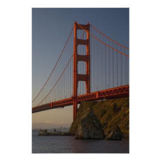 Golden Gate Bridge and San Francisco Photo Art