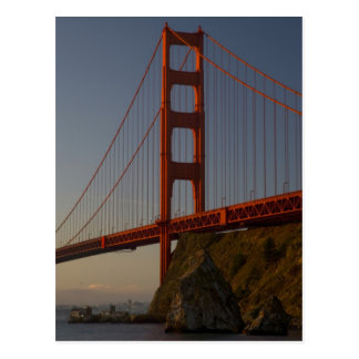 Golden Gate Bridge and San Francisco Postcard