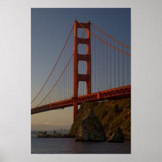 Golden Gate Bridge and San Francisco Poster