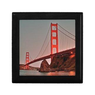 Golden Gate Bridge at Sun Down Gift Box