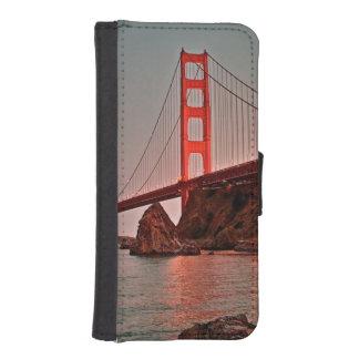 Golden Gate Bridge at Sun Down iPhone SE/5/5s Wallet Case