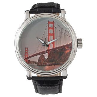 Golden Gate Bridge at Sun Down Watch