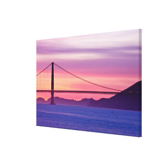 Golden Gate Bridge at Sunset Canvas Print