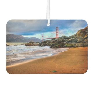 Golden Gate Bridge at sunset Car Air Freshener
