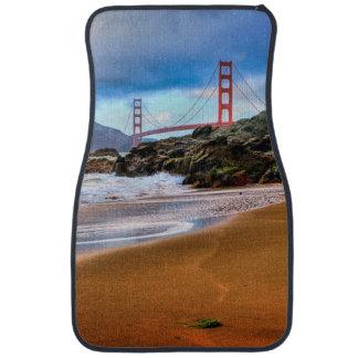 Golden Gate Bridge at sunset Car Mat