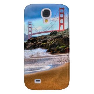 Golden Gate Bridge at sunset Galaxy S4 Case