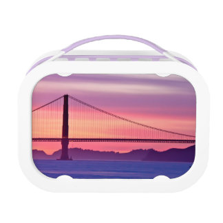 Golden Gate Bridge at Sunset Lunch Box