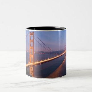Golden Gate Bridge at Sunset mug