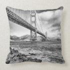 Golden Gate Bridge, California Cushion