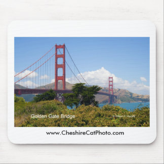 Golden Gate Bridge California Products Mouse Pads