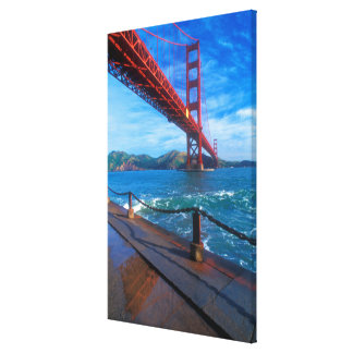 Golden Gate Bridge, California Stretched Canvas Print