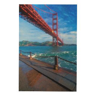 Golden Gate Bridge, California Wood Print