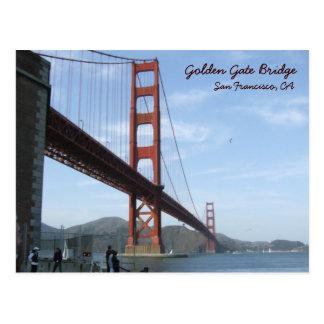 Golden Gate Bridge - Daytime Postcard