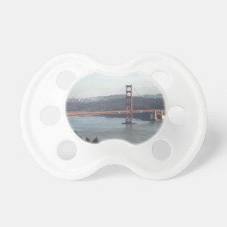 Golden Gate Bridge Baby Pacifiers